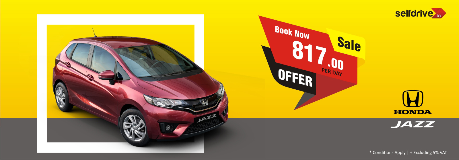selfdrive.in : Honda Jazz