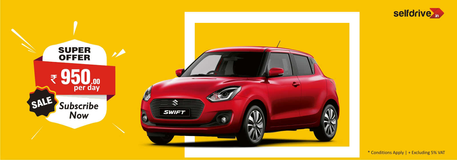 selfdrive.in : Maruti Swift